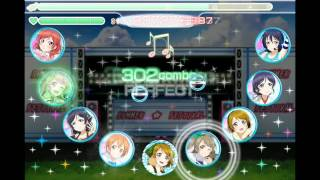getlinkyoutube.com-[Airserver test] Love Live! School Idol Festival game play - SCORE MATCH