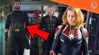 Captain Marvel in Avengers Infinity War Insane Theory