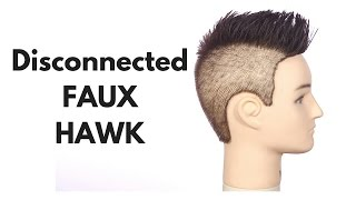 getlinkyoutube.com-Disconnected Faux Hawk - TheSalonGuy