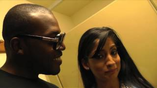 Bathroom chat with  Nadia Ali width=
