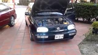 getlinkyoutube.com-Golf 98 Mk3 Intake Filtro Alto flujo K&N