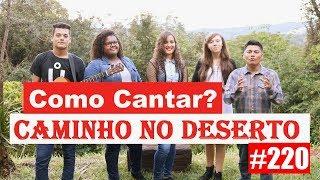 Como cantar? CAMINHO NO DESERTO  - VOCATO #220 width=
