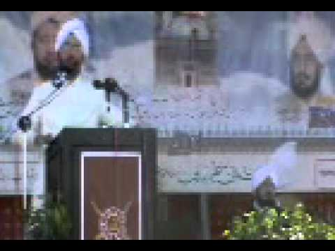 Sultan Ahmed ali Speech in Jauharabad part8