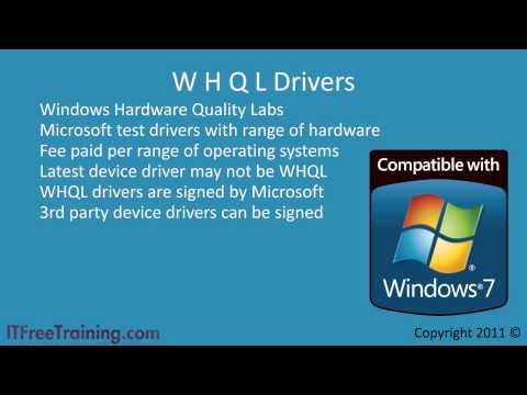 Configure Windows 7 Devices Drivers