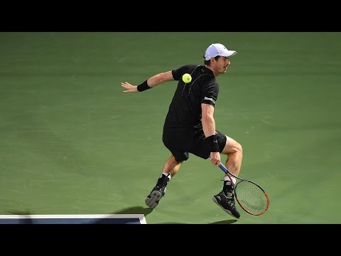 Murray Turns Defence Into Offence In A Flash In Dubai Final 2017