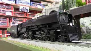 getlinkyoutube.com-Lionel Union Pacific LEGACY LionMaster Challenger 4-6-6-4 Steam Locomotive (Built To Order)