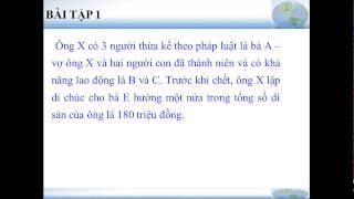 getlinkyoutube.com-QLDD- Bài Giảng Pháp Luậ Và Thừa Kế