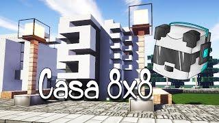 getlinkyoutube.com-Minecraft Tutorial Casa 8x8