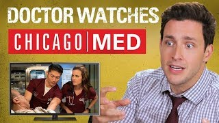Real Doctor Reacts to CHICAGO MED | Medical Drama Review | Doctor Mike width=