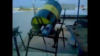 getlinkyoutube.com-homemade cement mixer