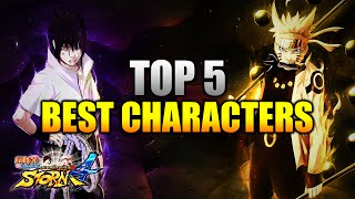 getlinkyoutube.com-Naruto Ultimate Ninja Storm 4 - Top 5 Best Characters w/ Commentary