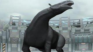 getlinkyoutube.com-Jurassic Park Builder: Indricotherium Battle [1st Evolution]