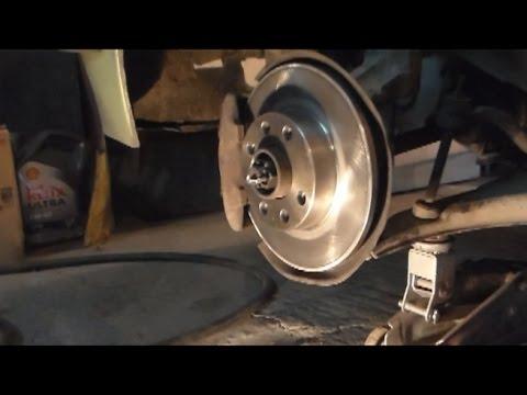Замена:тормозные колодки и диски Opel Kadett.Выхлопная система.