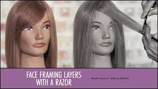getlinkyoutube.com-How to Create Face Framing Layers with a Razor