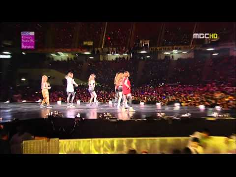 [HD 3D] 120428  T-ara - Roly Poly LIVE (MBC Korean Music Wave Bangkok 2012)