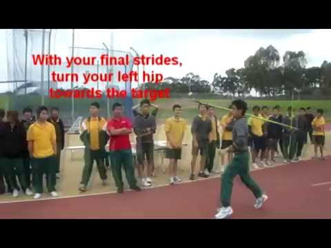 How to Throw a Javelin (Basic)