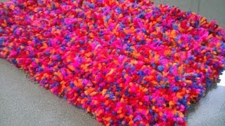 getlinkyoutube.com-ALFOMBRA POMPOM