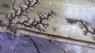 getlinkyoutube.com-Oak Lichtenberg Figures