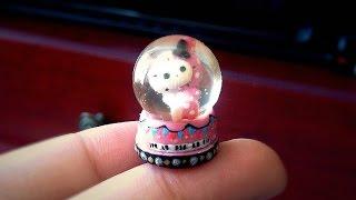 getlinkyoutube.com-Miniature Polymer Clay and Resin Snow Globe Tutorial
