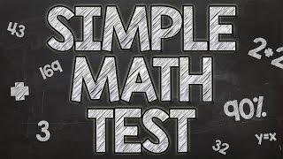 getlinkyoutube.com-Simple Math Test - 90% fail