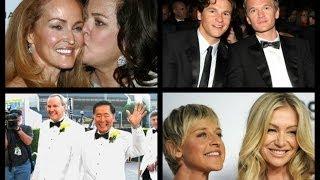 getlinkyoutube.com-Lesbian & Gay Celebrity couples