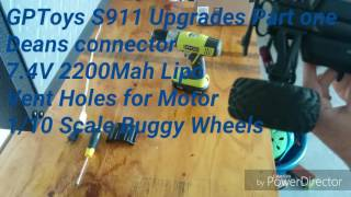 GPToys S911 Upgrades Review Part One!!