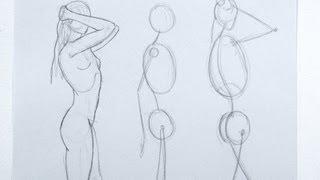 getlinkyoutube.com-Cómo dibujar una figura de la imaginación  y de memoria - Parte 1- Arte Divierte.
