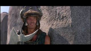 getlinkyoutube.com-Conan the Barbarian - Battle of the Mounds - Conan's Prayer to Crom