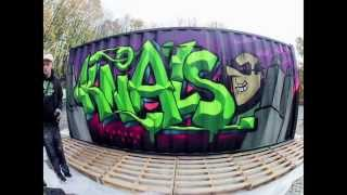 Graffiti time-lapse: Knal - B*THERE Festival