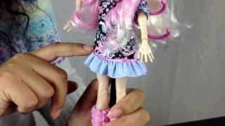 monster high viperine gorgon frights, camera, action