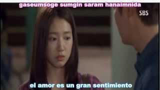 getlinkyoutube.com-Park Jang Hyeon & Park Hyeon Gyu - Love Is... (Sub Español - Romanización) (The Heirs OST)