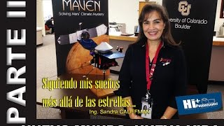 Ing. Sandra CAUFFMAN... PARTE II: Nuevo Mundo, Nueva Vida