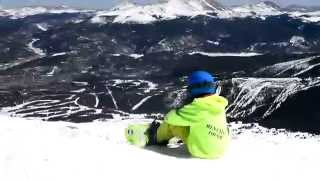 getlinkyoutube.com-Wes Muresan 8 Years Old Snowboarding -- Two Princes