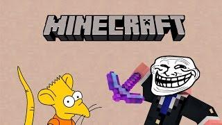 getlinkyoutube.com-Como trollear a un niño rata en Minecraft │Corto