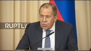 getlinkyoutube.com-LIVE: Lavrov holds joint press conference with Austrian counterpart Kurz