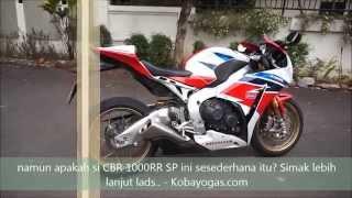 Honda CBR 1000RR SP Fire Blade Review by Kobayogas com