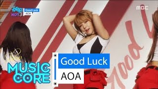 getlinkyoutube.com-[Comeback Stage] AOA - Good Luck, 에이오에이 - 굿 럭 Show Music core 20160521