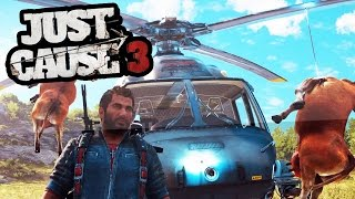 getlinkyoutube.com-TOP 6 WTF MOMENTS IN JUST CAUSE 3 (Just Cause 3 Fails & Glitches)