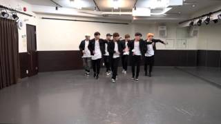 getlinkyoutube.com-BTS (방탄소년단) - RUN Dance Practice (Mirrored)