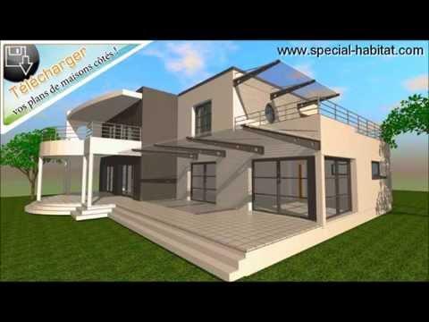www.plans-de-maison-moderne.com - cubique moderne - building a modern house - sims 3