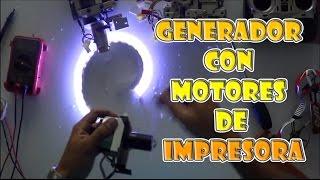 getlinkyoutube.com-motor de impresora como generador de energía ★ Todo reciclado ● @todoinventostv #28