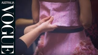 getlinkyoutube.com-Watch: a behind-the-scenes look at the making of Chanel's haute couture dresses