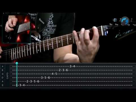 Escala Menor Harm�nica (aula t�cnica de guitarra)