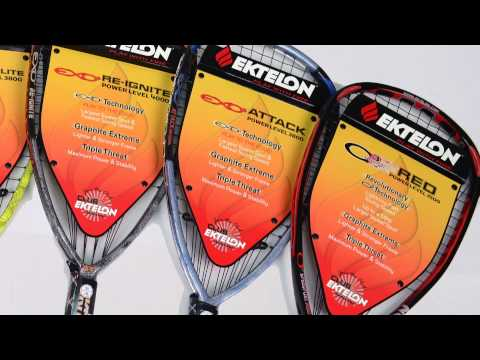 Ektelon Racquetball Racquets on Sale at Pacific Sports Warehouse