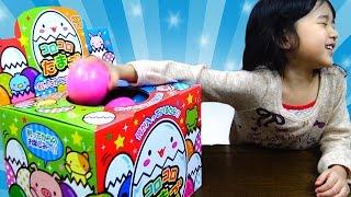 getlinkyoutube.com-割ってからのお楽しみ!コロコロたまご30個 おもちゃ サプライズエッグ Surprise Egg himawari-CH