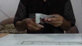 getlinkyoutube.com-sulap kertas di potong tidak putus (tutorial)