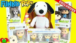 getlinkyoutube.com-Peanuts Movie Funko Pop and Exclusive Minis with Happy Dance Snoopy