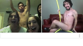 getlinkyoutube.com-Miley Cyrus - Wrecking Ball (Chatroulette Version)