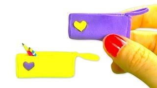 getlinkyoutube.com-Miniature doll pencil case tutorial - School supplies DIY - YolandaMeow♡