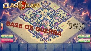 getlinkyoutube.com-Aldea de Guerra TH8| Anti tres estrellas| 4 morteros